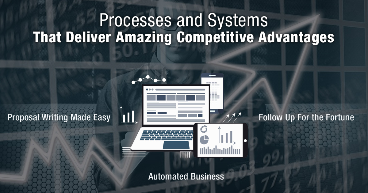 Processes and Systems That Deliver Amazing Competitive Advantages