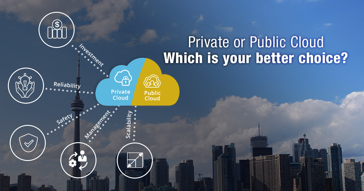 Private or Public Cloud: Which Is Your Better Choice?