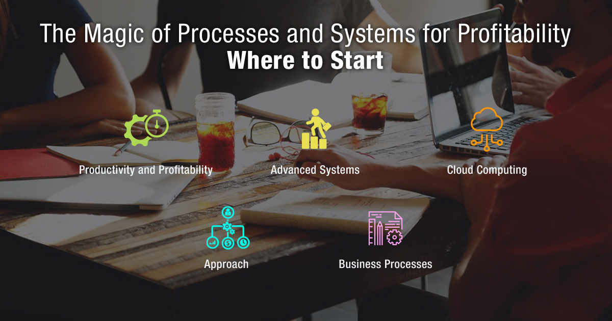 The Magic of Processes and Systems for Profitability: Where to Start