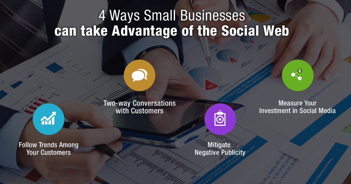 4 Ways Small Businesses Can Take Advantage Of The Social Web