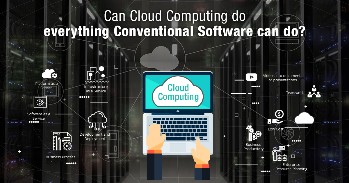 Can Cloud Computing Do Everything Conventional Software Can Do?