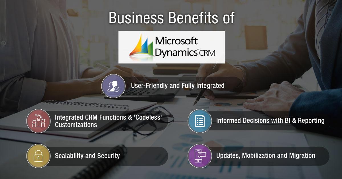 Business Benefits of Microsoft Dynamics CRM
