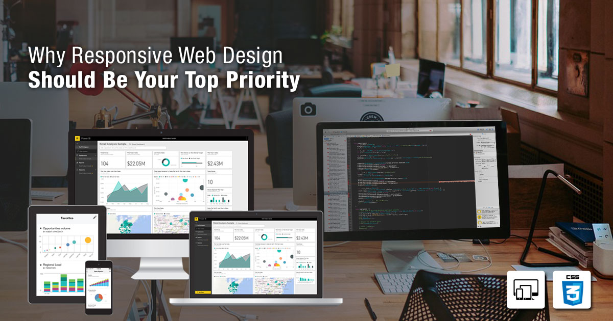 Why Responsive Web Design Should Be Your Top Priority