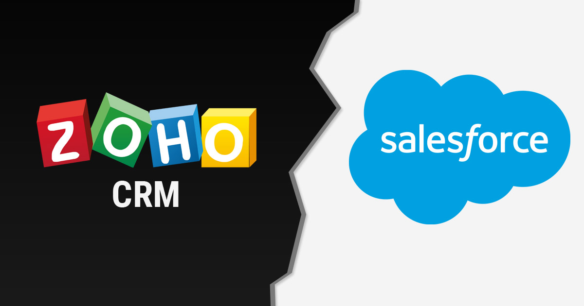 SalesForce vs. Zoho CRM: A Comparison