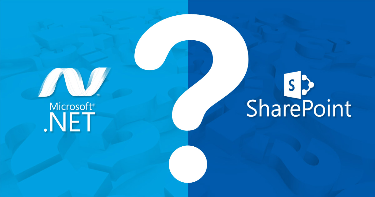 When To Use SharePoint and  When Asp.net