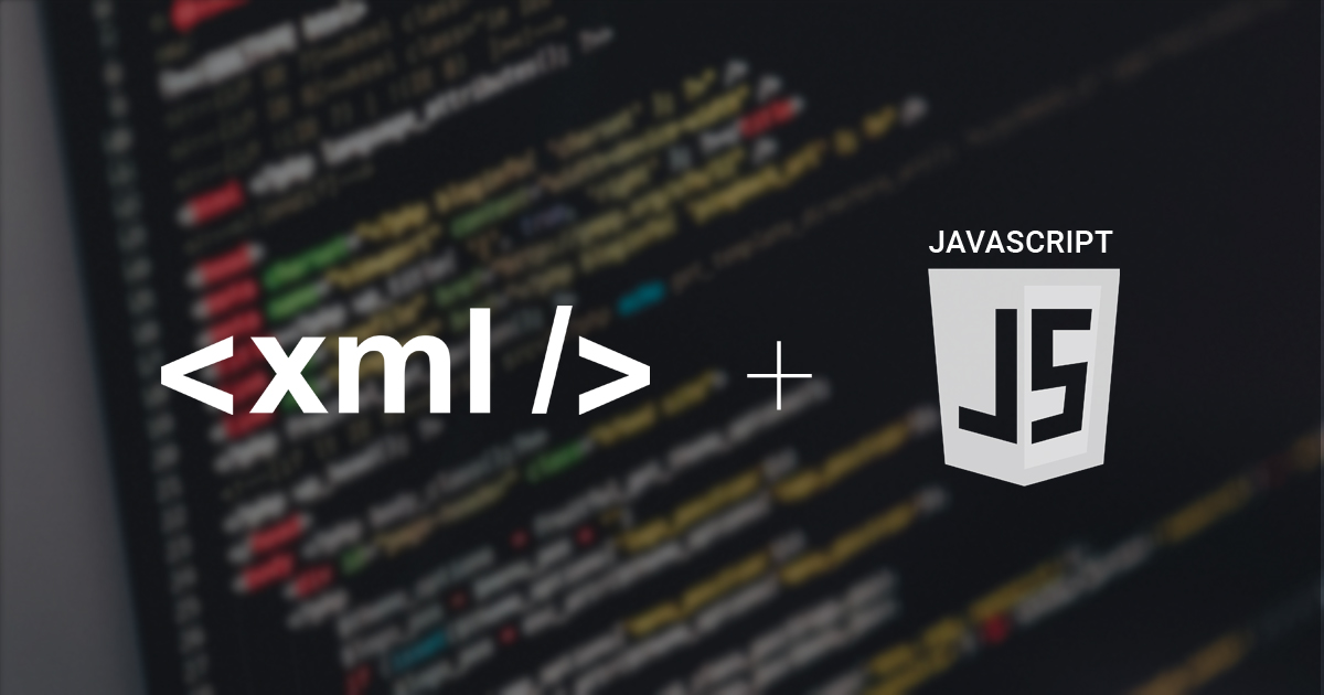 Implementing XML Data Islands using JavaScript