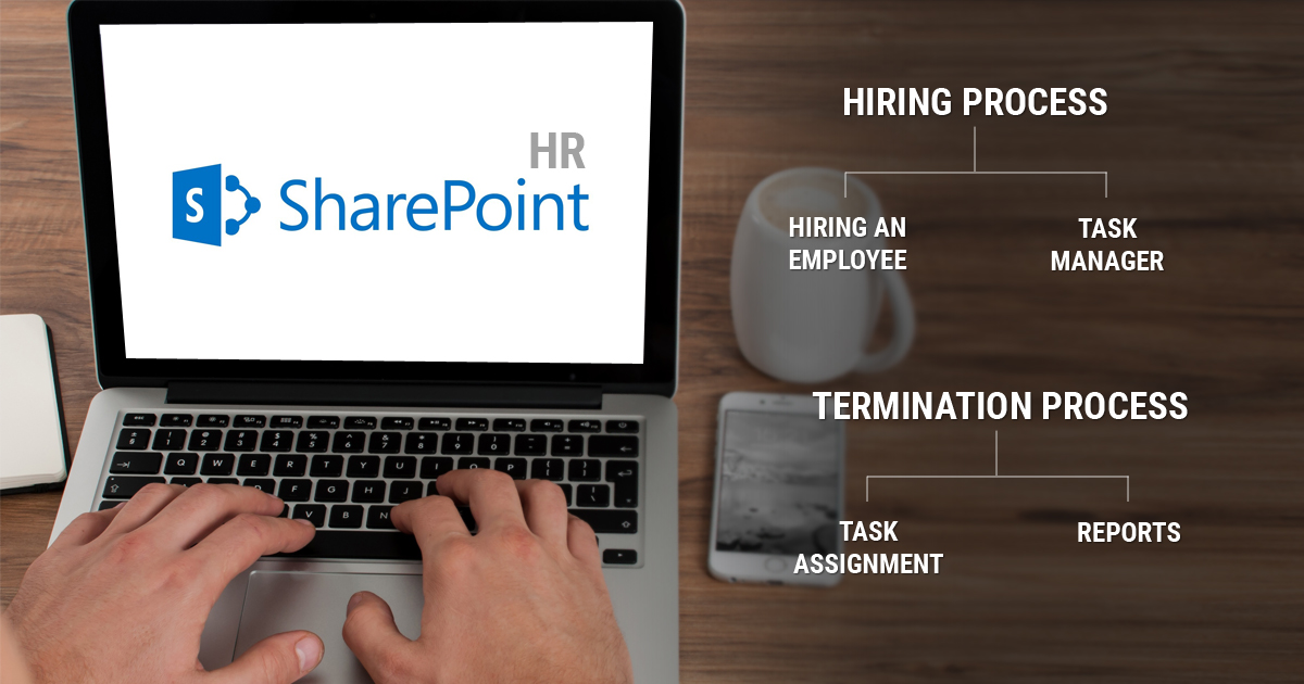 Managing Employee Hiring and Termination Processes through SharePoint