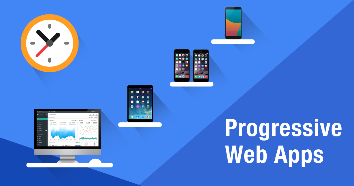 Think Progressive. Think Progressive web apps.