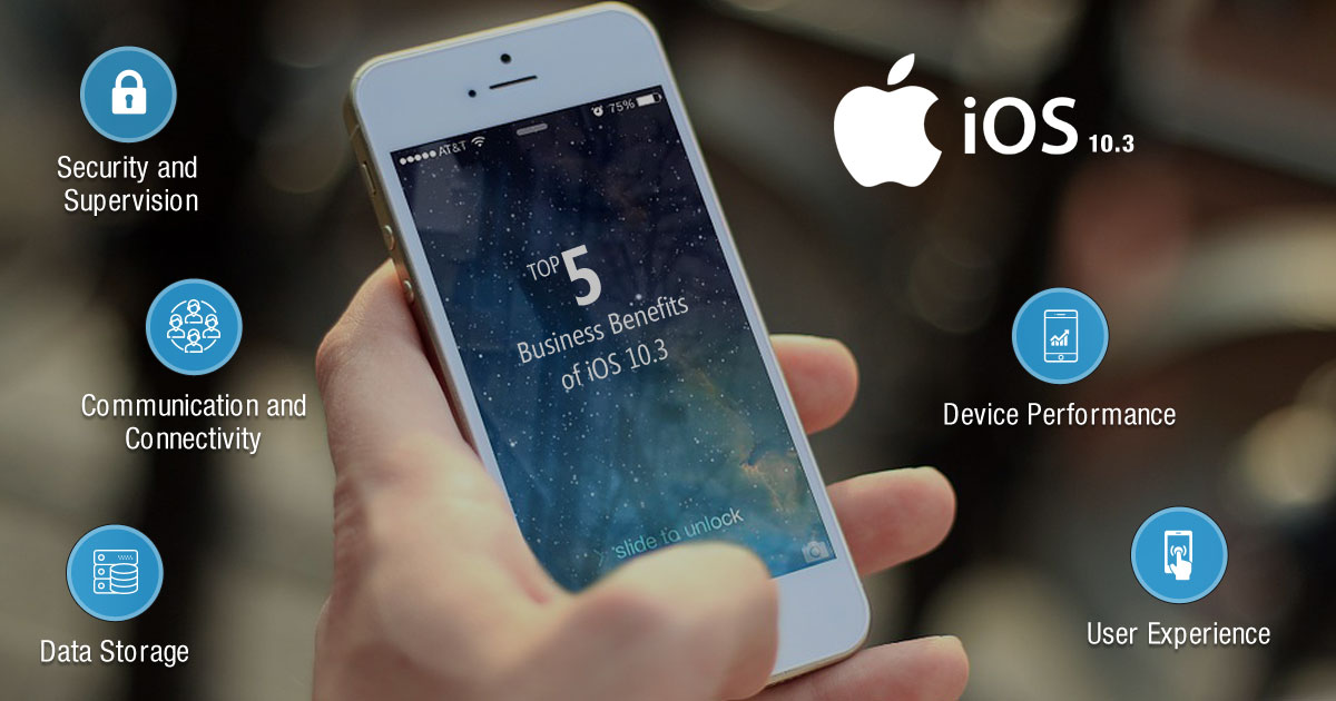 Top 5 Business Benefits of iOS 10.3