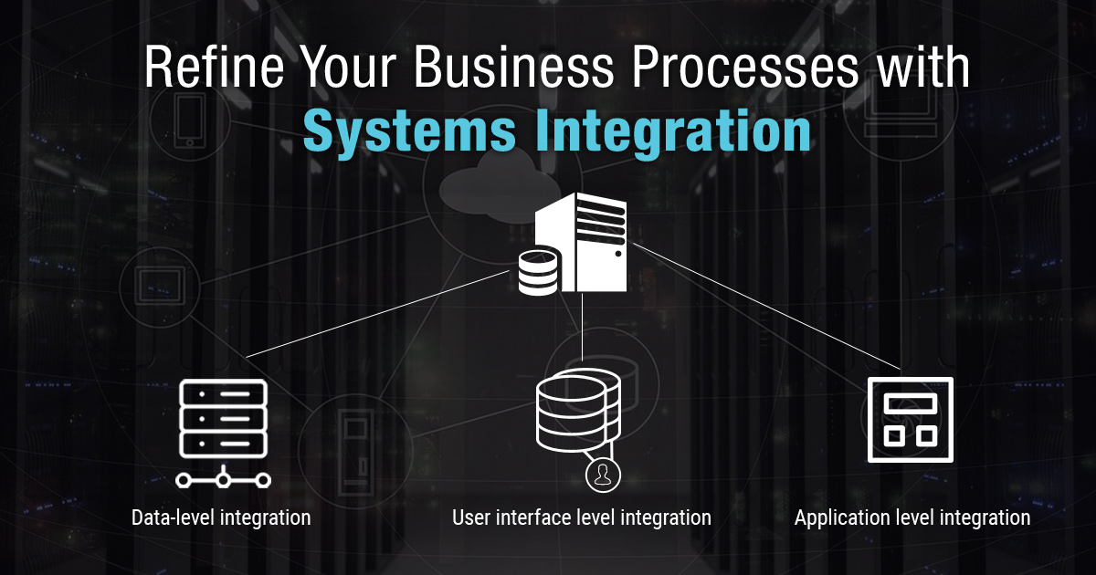 Refine Your Business Processes with Systems Integration