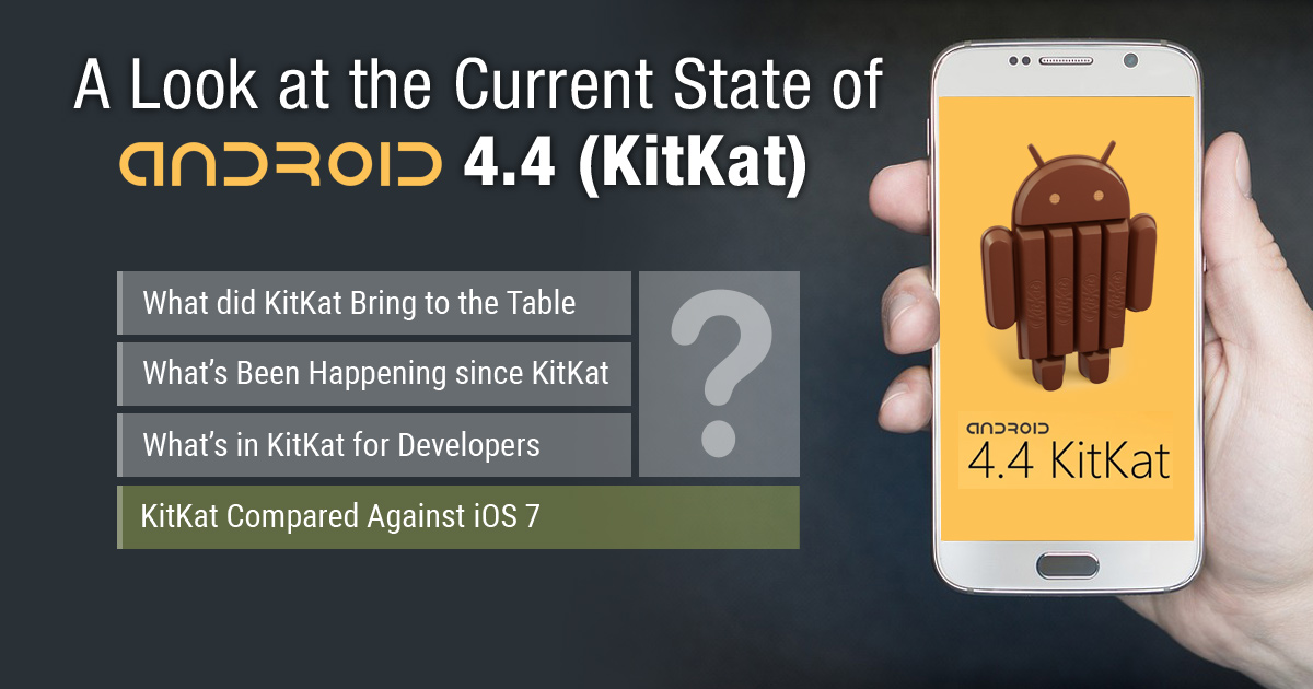 A Look at the Current State of Android 4.4 (KitKat)