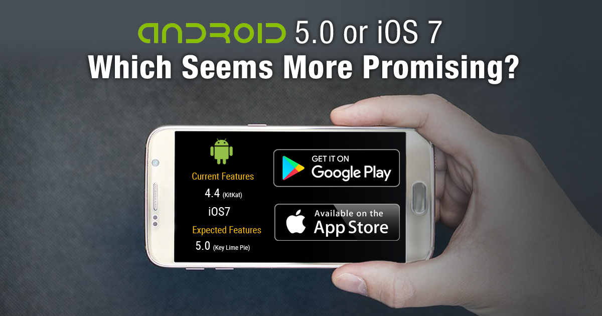 Android 5.0 or iOS 7 – Which Seems More Promising?