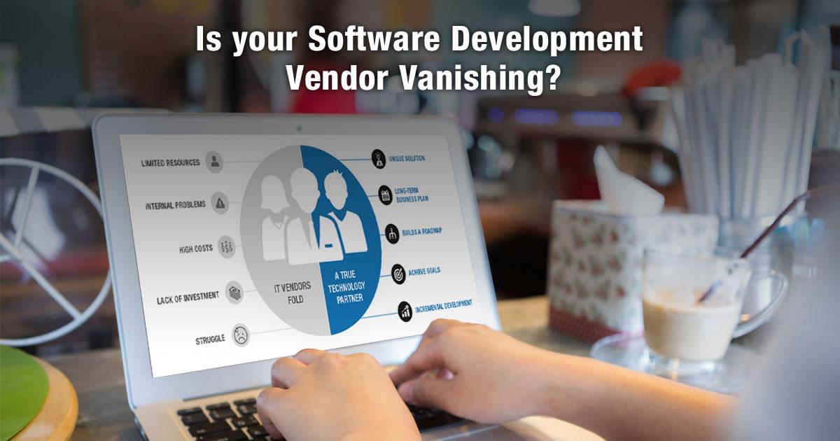 Is your software development vendor vanishing?