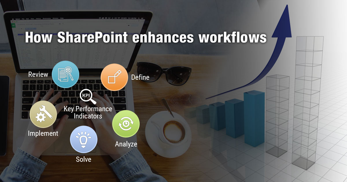 How SharePoint enhances workflows