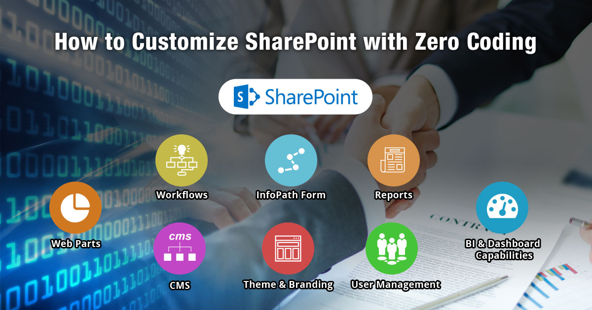 How to Customize SharePoint with Zero Coding