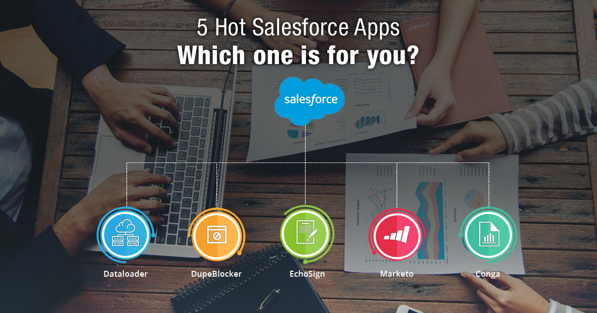 5 Hot Salesforce Apps: Which one is for you?