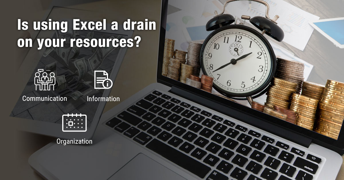 Is using Excel a drain on your resources?
