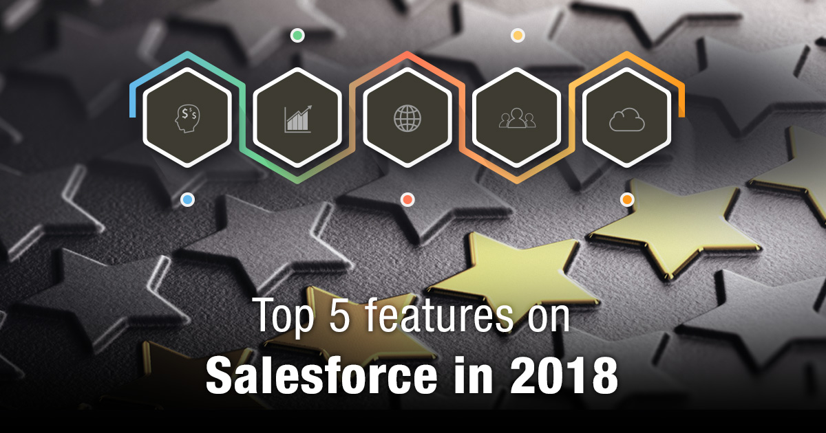 Top 5 features on Salesforce in 2018
