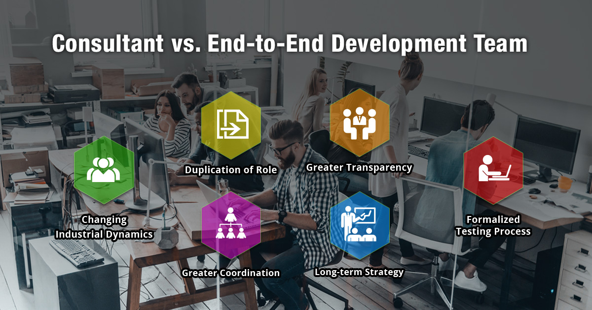 Consultant vs. End-to-End Development Team