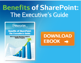 Benefits of SharePoint: The Executive's Guide
