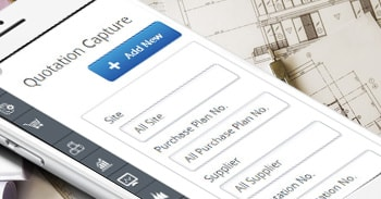 Mobile friendly Web-based Construction ERP Solution