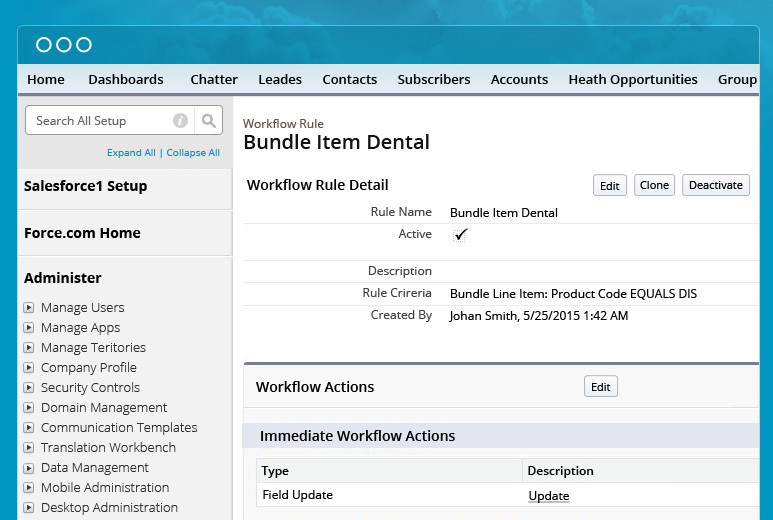 Salesforce Integration with Improved Workflow