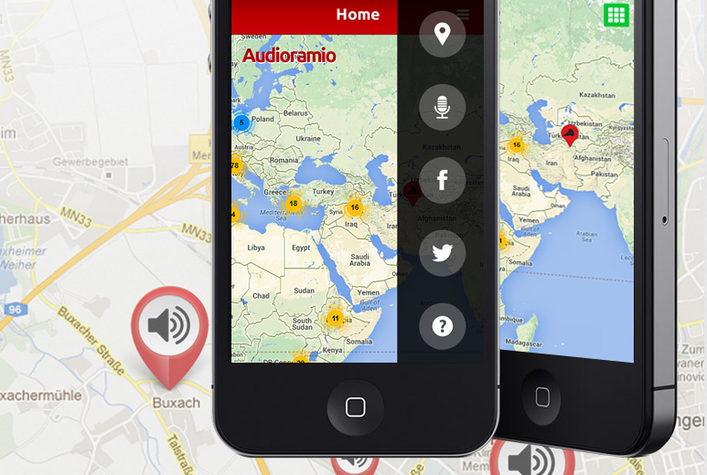 AudioRamio iOS App | Mobile Pronunciation Map | iOS App