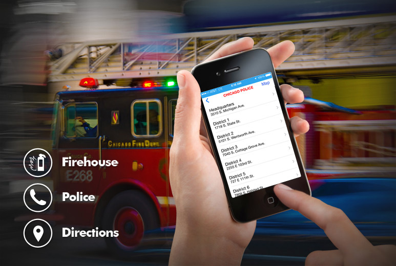 Chicago Emergency Services Locator Solution