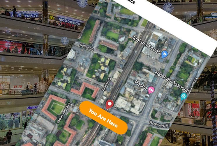 Mobile Shopping Mall Guide