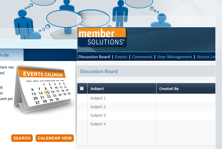 Custom SAAS Membership Management Portal