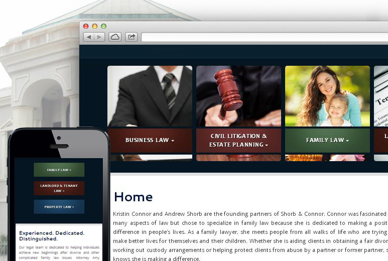 Web-based Law Firm Solution