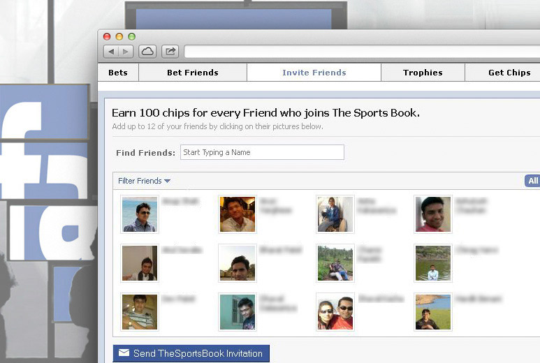 Virtual Sports Betting on Facebook